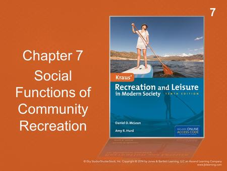 Chapter 7 Social Functions of Community Recreation