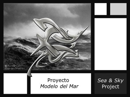 Sea & Sky Project Proyecto Modelo del Mar © Ronald Cain Eugenia Zavattieri.