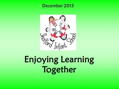 December 2015 Enjoying Learning Together. Official Video  Pharrell Williams 'Happy' 2014.