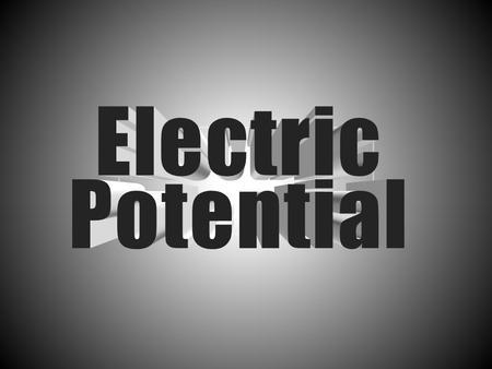 The electrical potential energy of a charged particle is increased when work is done to push it against the electric field of something else that is charged.