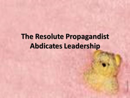 The Resolute Propagandist Abdicates Leadership. Rizal seeks Justice for his Family While Rizal was in Madrid, he exhausted all available legal remedies.