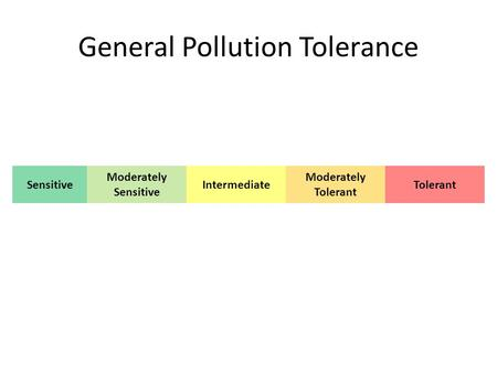 General Pollution Tolerance