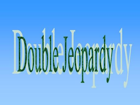 Political Parties Documents The Revolution The Constitution The Civil War Compromises $200 $400 $600 $800 $200 $400 $600 $800 $200 $400 $600 $800 $200.