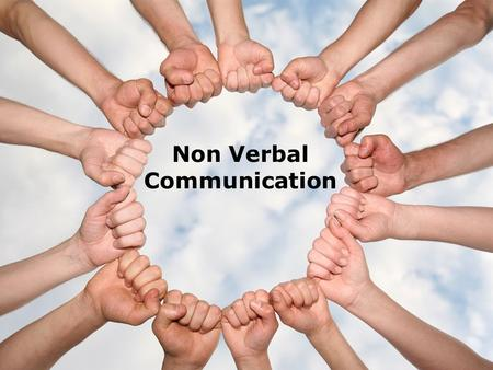 Non Verbal Communication. Program Objectives (1 of 2)  Hone your interpersonal advantages while interacting with others.  Recognize how the eyes, face,