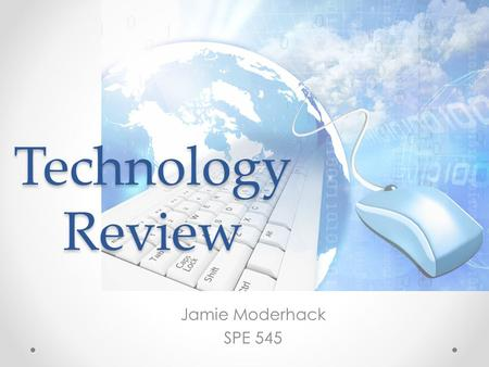 Technology Review Jamie Moderhack SPE 545. READ and WRITE GOLD.