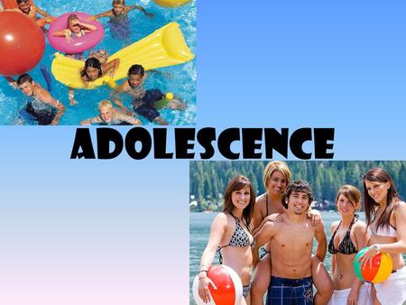 Adolescence. Between childhood and adulthood. From puberty to independence from parents. Getting longer and longer.