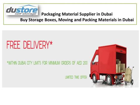 Packaging Material Supplier in Dubai Buy Storage Boxes, Moving and Packing Materials in Dubai.