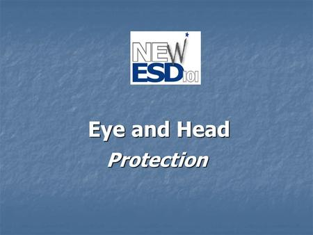 "Protection Eye and Head EYE PROTECTION All in favor say ""eye :"