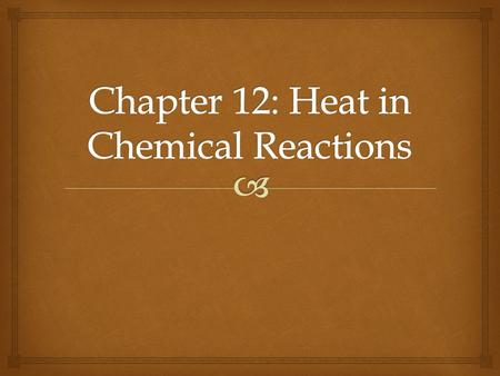   Chemical reactions involve breaking and/or making bonds and rearranging atoms.  Breaking bonds requires energy and making bonds releases energy.
