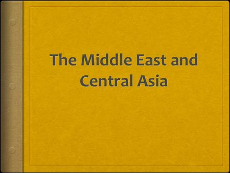 Essential Idea Conflicts in the Middle East are ongoing and a product of multiple factors.