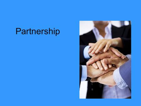 Partnership. A firm owned by two or more people and bound by the terms of a legal document known as a partnership agreement There are two different types.