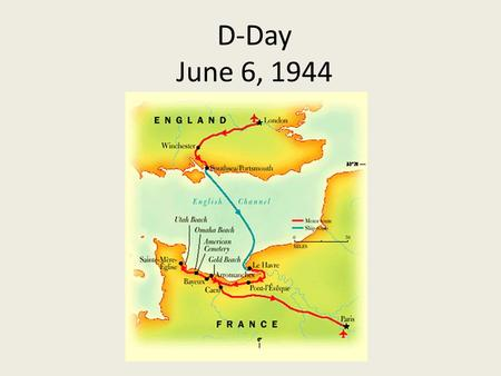 D-Day June 6, 1944. In the early morning hours of June 6, 1944, three Allied airborne divisions parachuted behind enemy lines in NW France to cut vital.