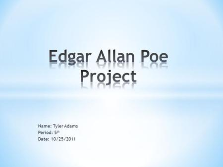 """edgar allan poe poetic principle essay My analytical essay on """"the raven"""" by edgar allan poe conclusion that edgar allan poe's """"the raven"""" demonstrates """"poetry analysis: the raven, by."""