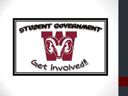 What is Student Government? Student government is a great opportunity for you to make a difference in your school and community. Student government allows.