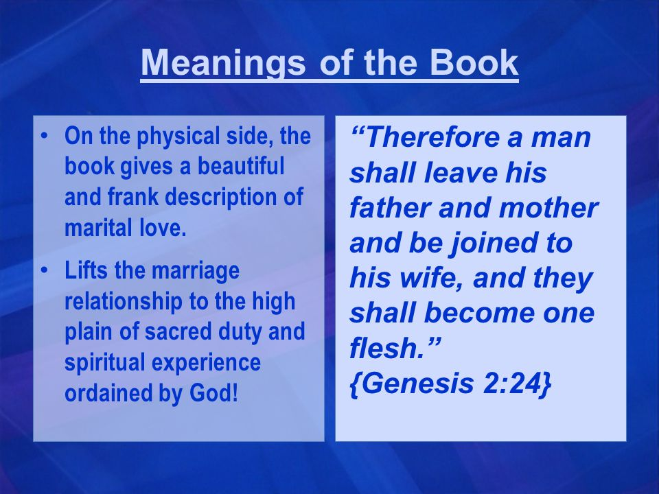 Main Thoughts The book teaches that love cannot be forced or pushed; it must arise spontaneously.
