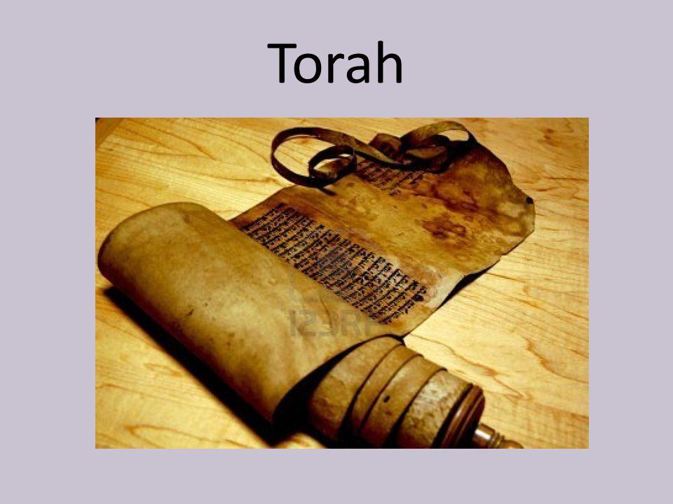 What is written in the Torah?