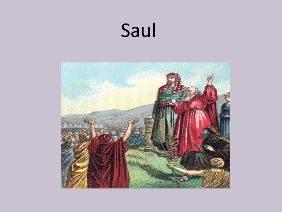 With who did Saul battle?