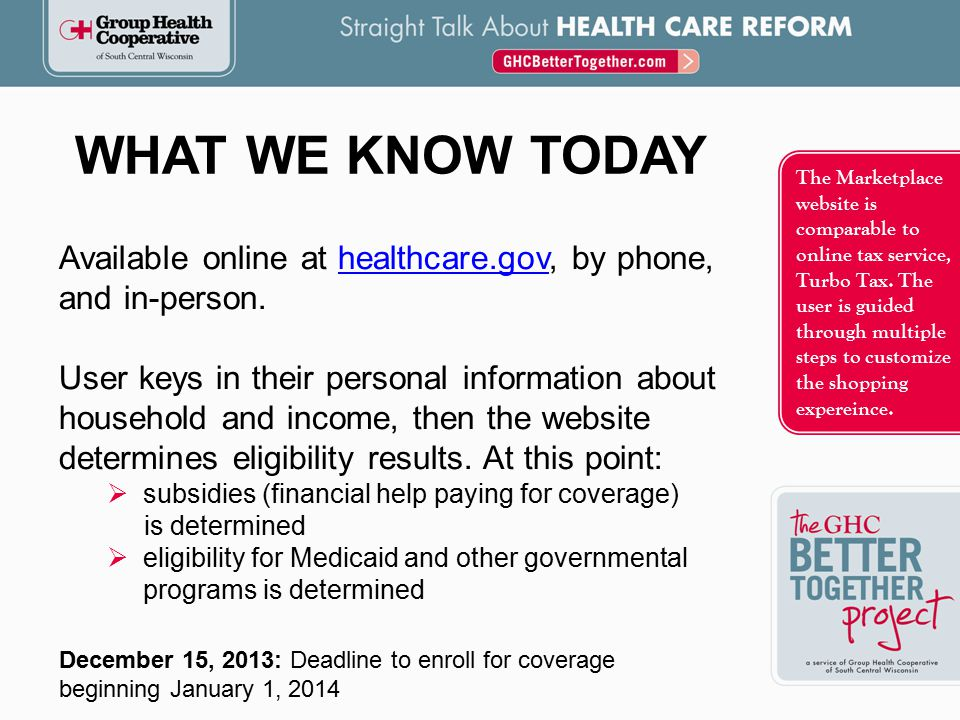 WHAT S IN THE HEALTH INSURANCE MARKETPLACE.