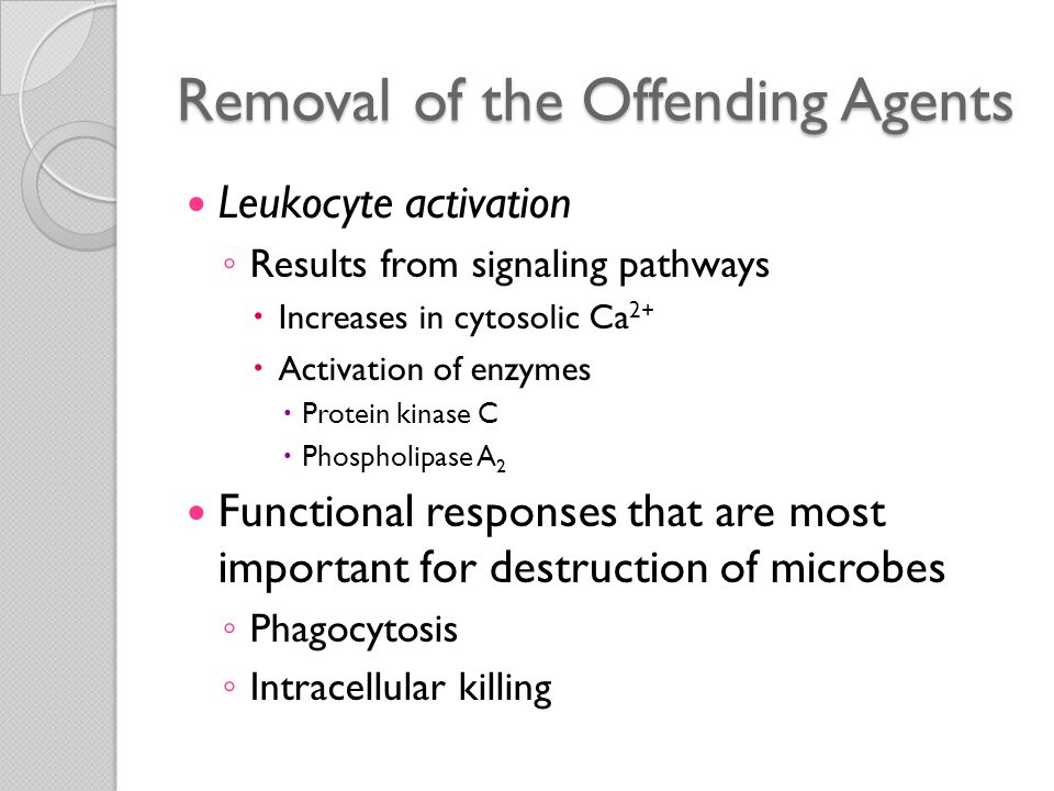 Phagocytosis Phagocytosis ◦ Involves three sequential steps  Recognition and attachment of the particle to be ingested by the leukocyte  Its engulfment, with subsequent formation of a phagocytic vacuole  Killing or degradation of the ingested material