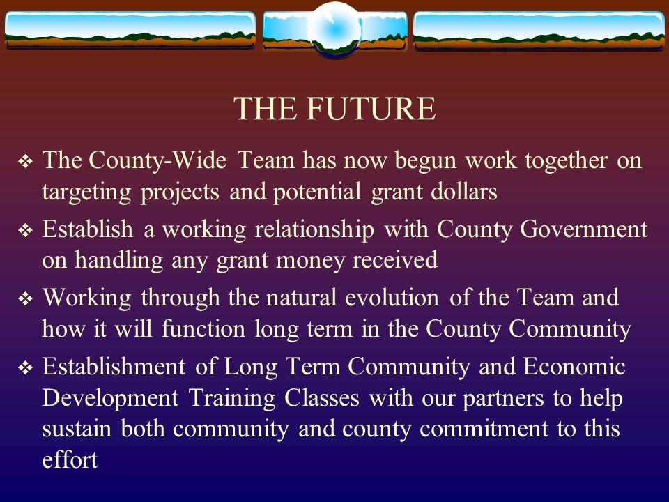 The Jackson County Community and E.D. Leadership Team