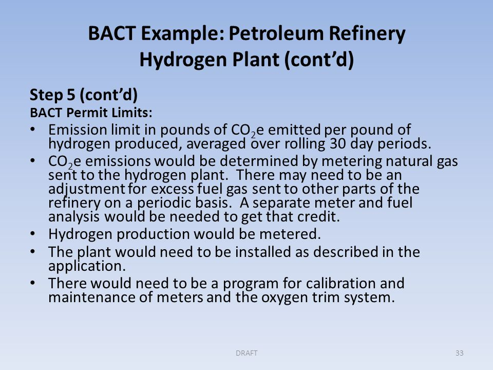 GHG BACT Example: Coal-Fired Electric Generating Unit