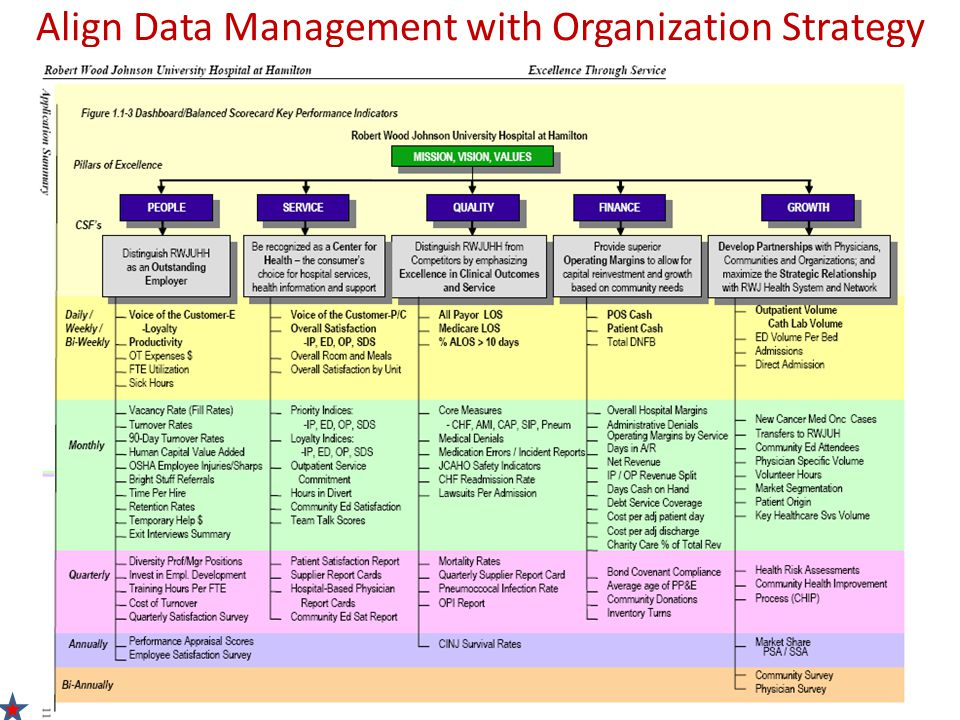 Align Data Management with Organization Strategy
