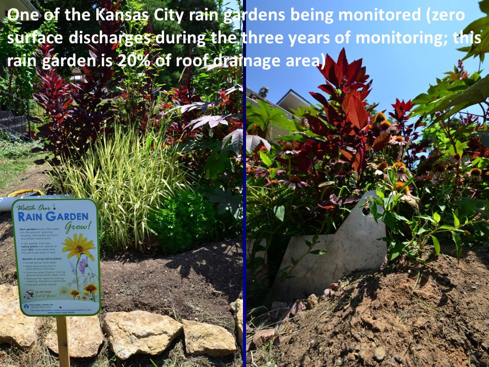 23 Percentage Reductions of Annual Runoff Flows with Rain Gardens