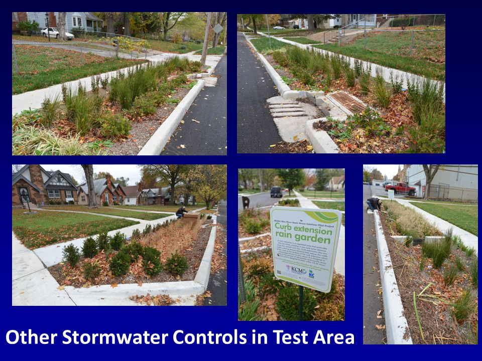 Conclusions There are a large number of infiltration-based stormwater controls that can be applied to a variety of land uses to reduce the volume and rates of stormwater discharged to combined sewers.
