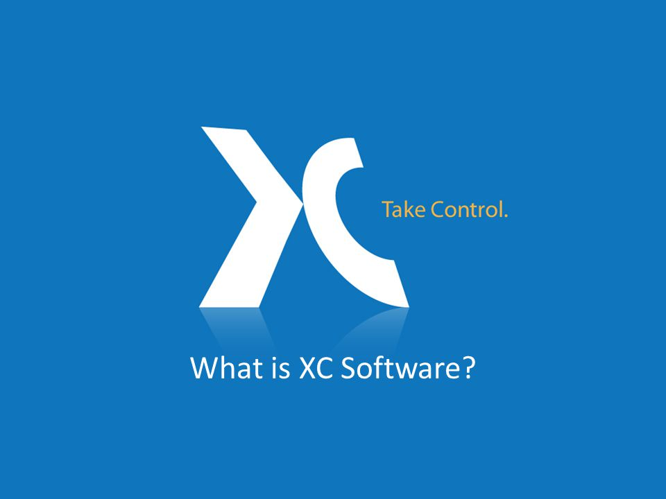 What is XC software.