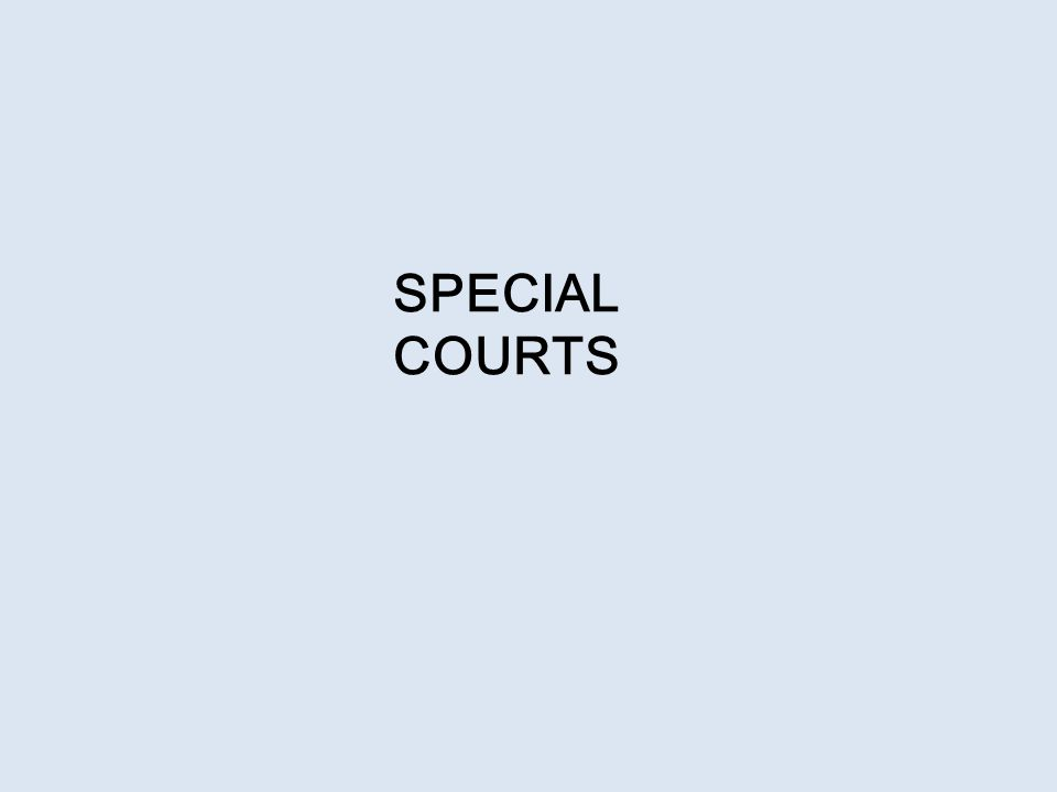 Special Courts (Section 435) The Central Government may for the purpose of providing speedy trial of offences under this Act by notification, establish or designate as many as special courts as may be necessary.