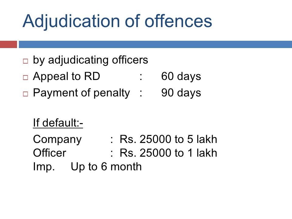 Prosecution / Compounding of Offence  Suo Moto  Prosecution is filed by ROC