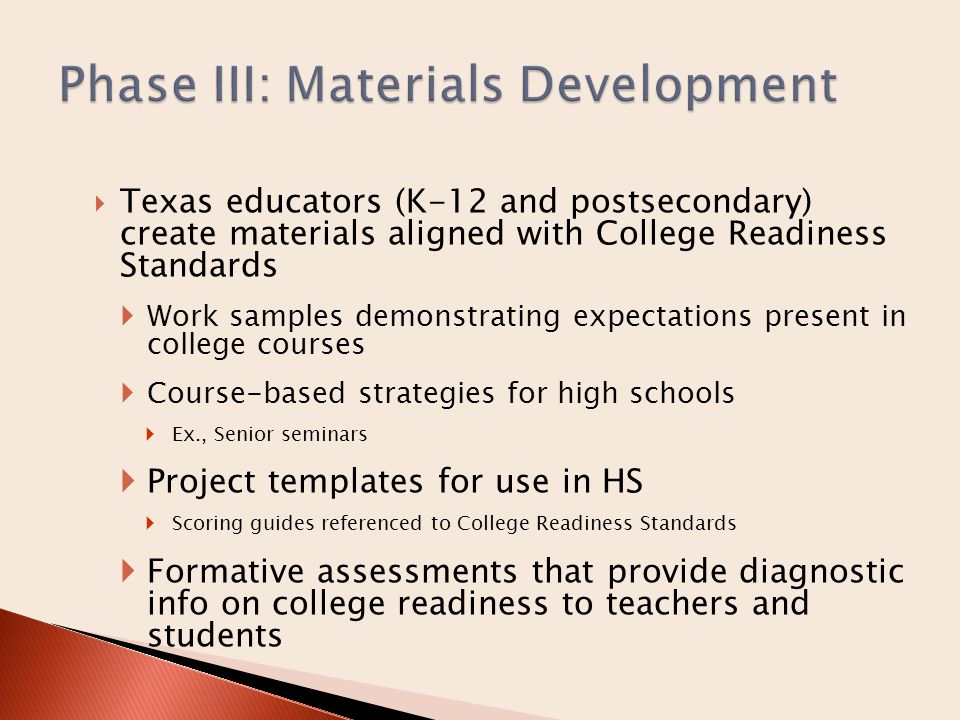  CRS Development Timeline in folder  For more information, contact: Dr.