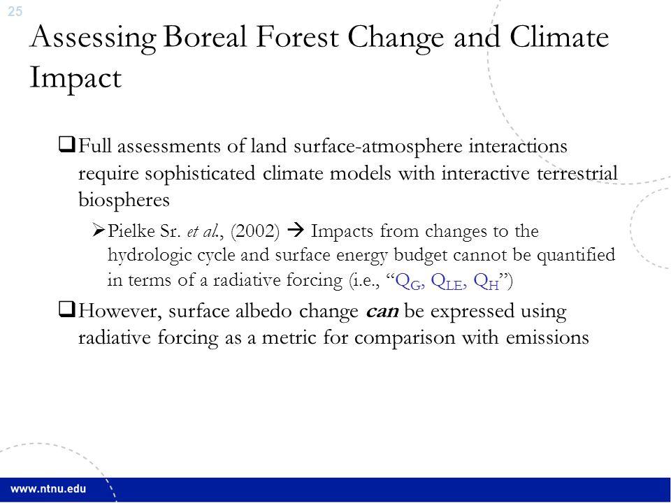 26  Betts (2000); Claussen et al., (2001); Sitch et al., (2005); Bala et al., (2007); Bathiany et al.