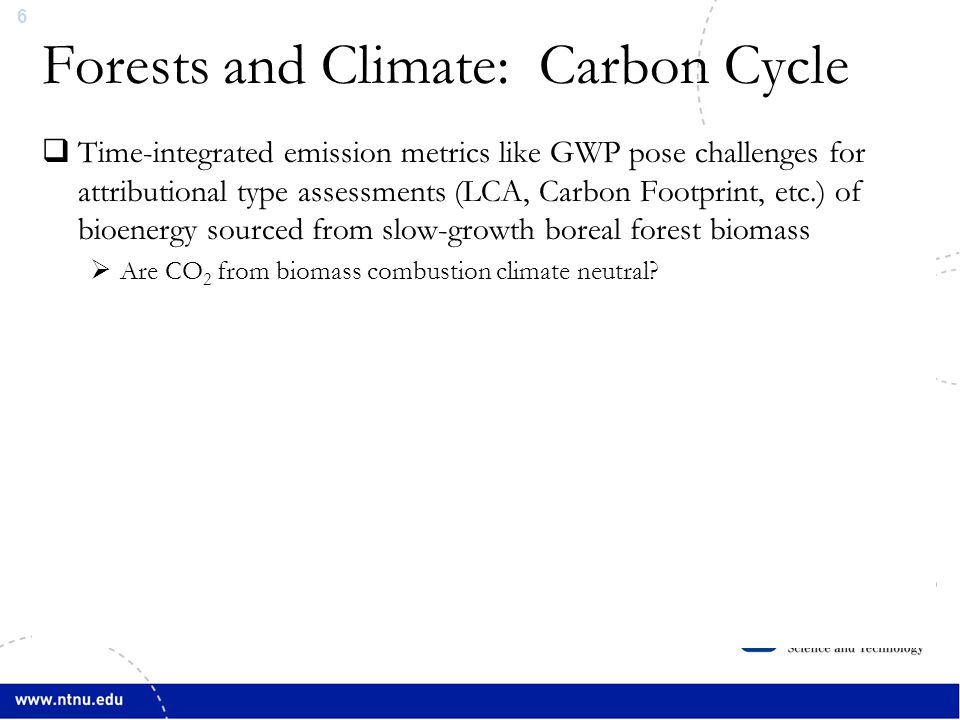 7 CO 2 From Biomass Atmosphere Cherubini et al., 2011a