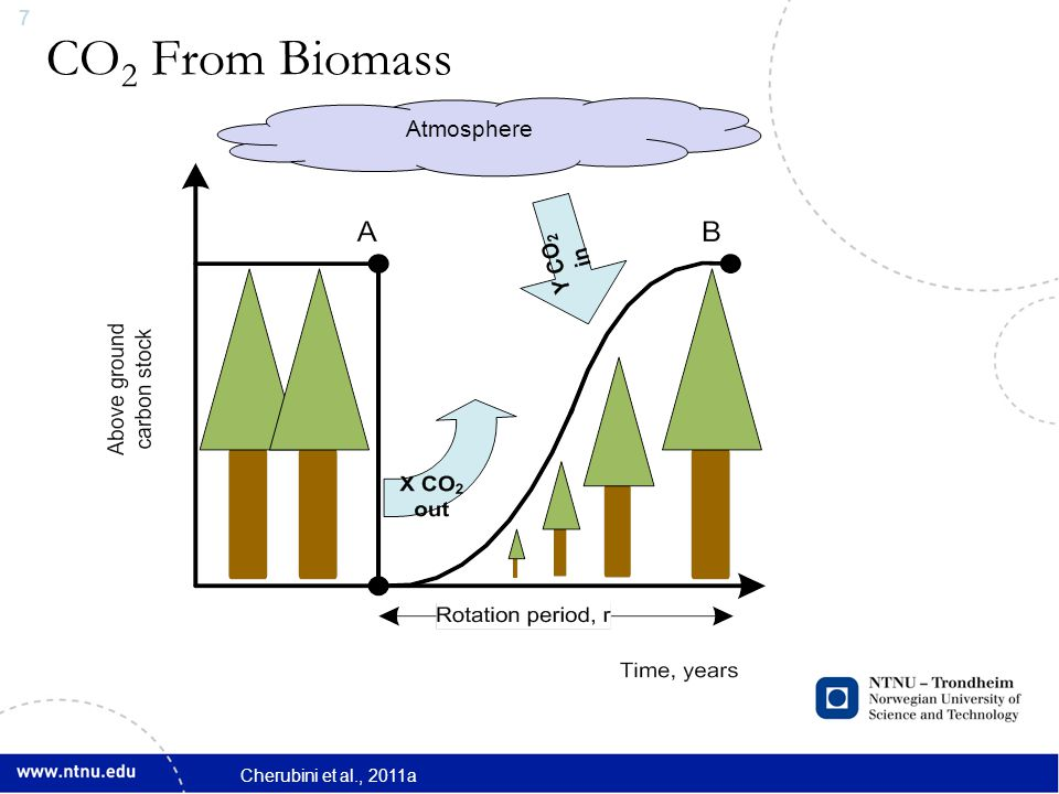 8 CO 2 in the Atmosphere during Regrowth Atmosphere Warming during Regrowth Cherubini et al., 2011a
