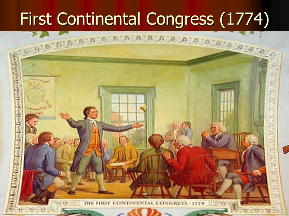 First Continental Congress (1774)
