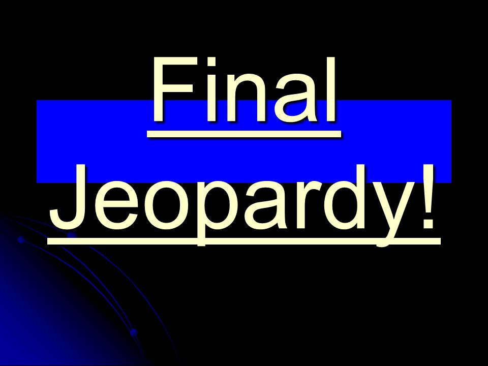 Final Jeopardy Question Place the following events in the order of their occurrence: Lexington, Boston Massacre, Bunker Hill, Boston Tea Party, Saratoga, Trenton, Charlestown, Declaration of Independence, Treaty of Paris, Yorktown