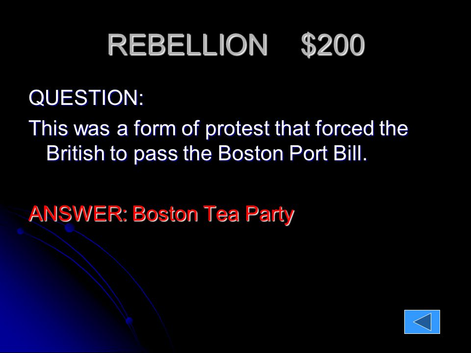 REBELLION $300 QUESTION: How did the Sons and Daughters of Liberty's protests differ?