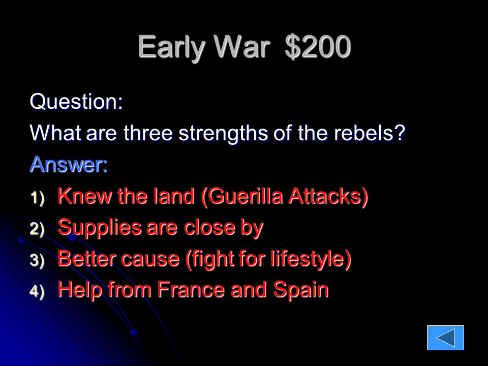 Early War $400 Question: Who won the Battle of Bunker Hill, and what was the impact for both sides?