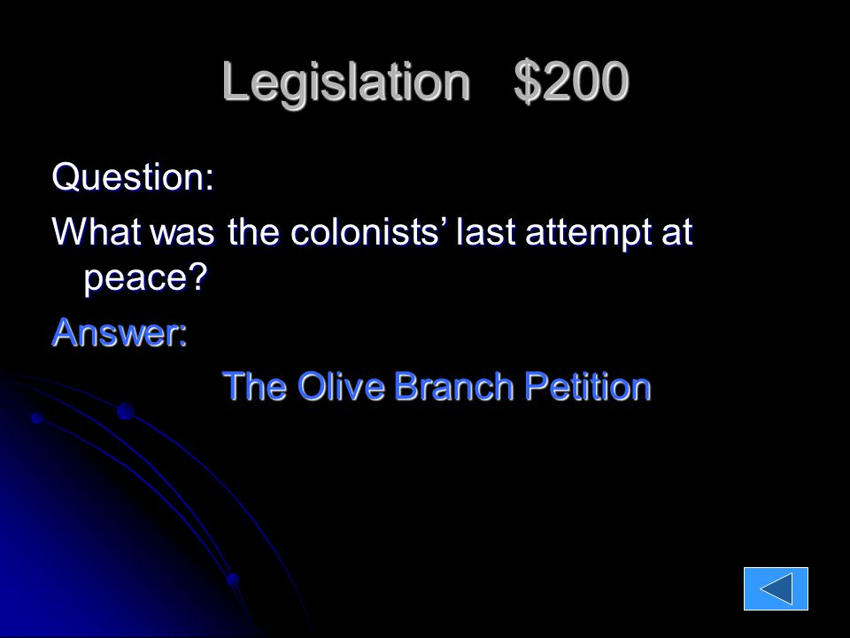 Legislation $400 Question; What did the Second Continental Congress call our first plan of government?