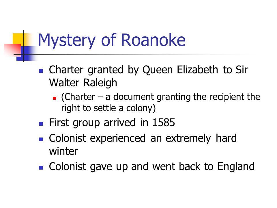Roanoke…..