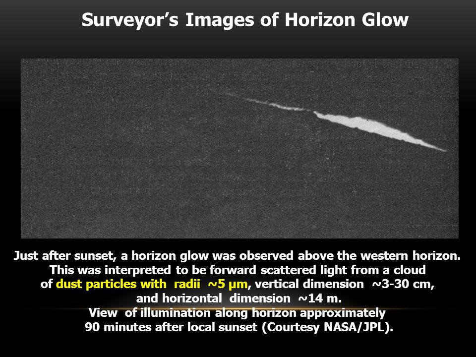 Image of Surveyor 6 casting an 18-meter-long shadow with the sun just 8 degrees above the horizon.