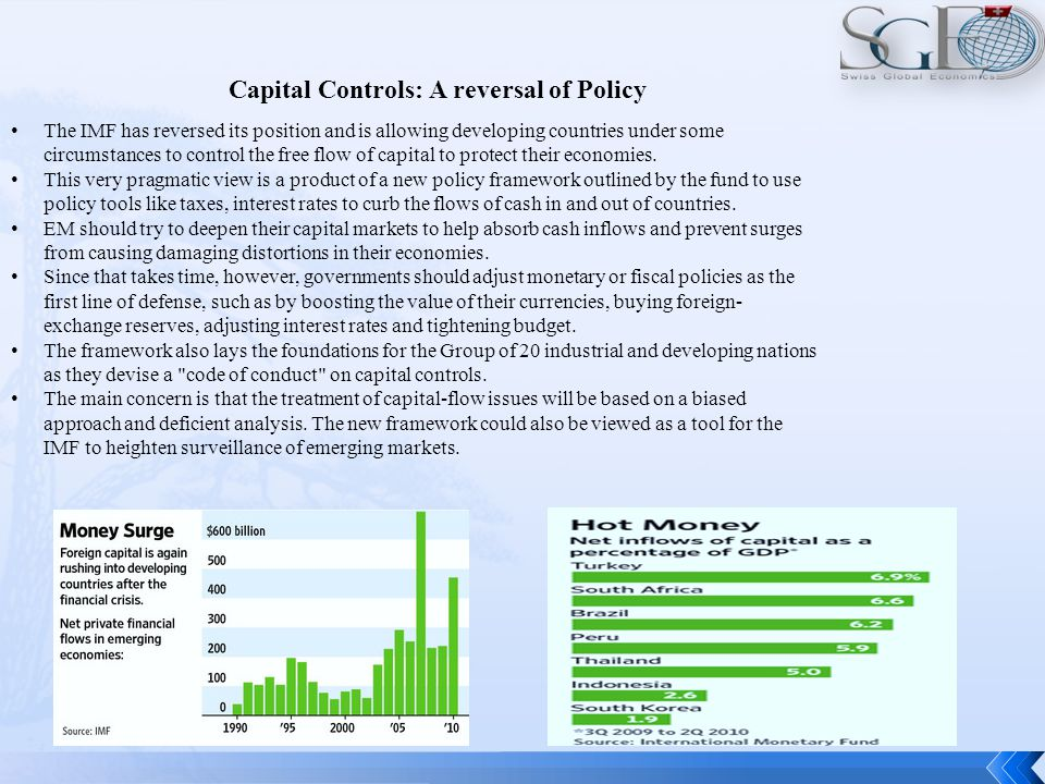 Capital Flows: Analysis and Empiric International Financial Integration Capital Flows to Developing Countries An international debt cycle.