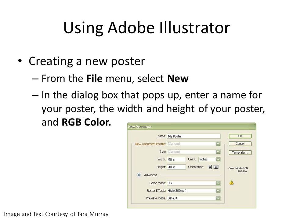 Using Adobe Illustrator Toolbars – If you cannot see any of the tools needed, select View from the toolbar and check the tools needed.