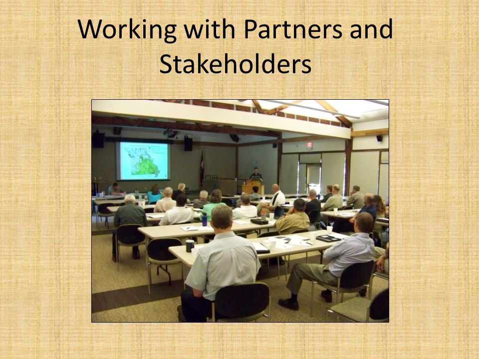 Lessons Learned from our Stakeholder Meetings: Conduct an internal trial run.