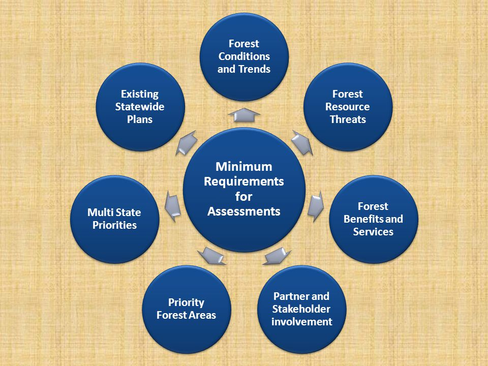 Key Components of Missouri's Assessment Identification of Issue Themes Forest Opportunity Areas