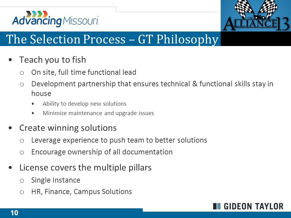 11 The Selection Process - Experience GT eForms™ Process Automation Solutions GT ePAF™ GT OnBoarding™ GT eVoucher™ GT Paperless I-9™ GT E-Verify Integration™ GT Personnel eFile™ GT eTime™ GT ePost™ Security eForm Overtime eForm Bonus Award eForm Journal Voucher eForm Deposit eForm Expense Approval Expense Reimbursement Reports To eForm Leave Cash-Out eForm Additional Pay eForm Merit eForm Readmission Application Faculty Promotion/Tenure Non-Tuition Fee Request eForm Grade Change Course Add/Drop/Withdraw E-Degree Certification Description Faculty Discipline Description Faculty Teaching Certification Graduate Status Change Thesis/Dissertation Release Option Travel Fellowship Application Travel Fellowship Expense Report