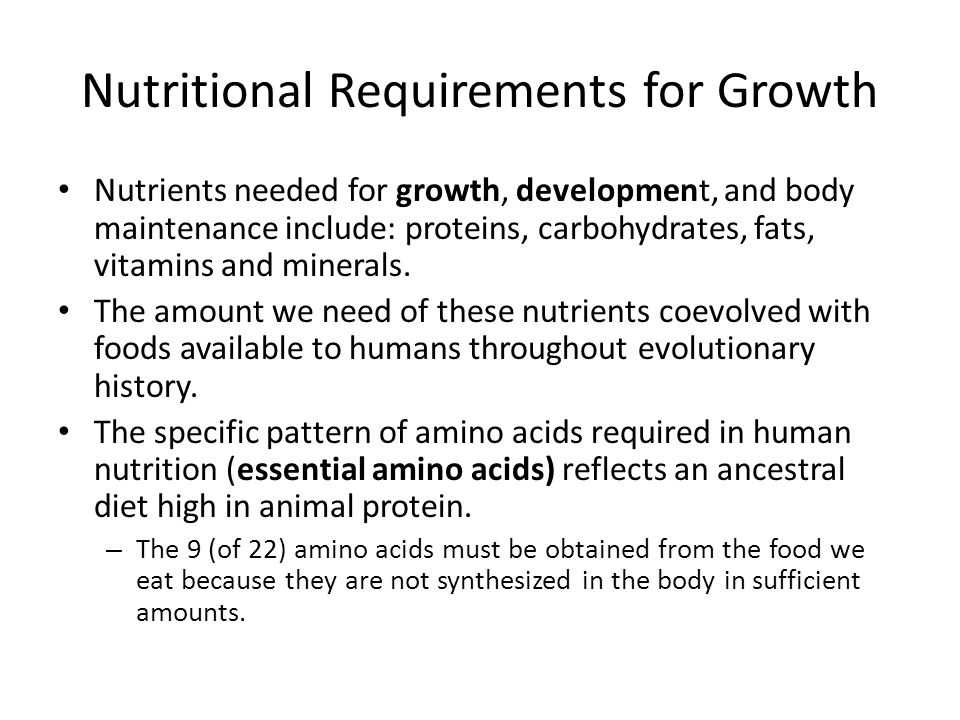Factors Influencing Growth and Development Genetics – set the underlying limitations and potentials for growth and development – Environmental factors can influence growth and development, but an individual can not exceed their genetic potential.
