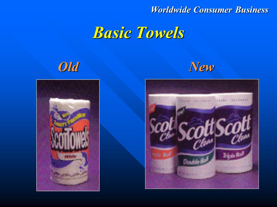 Worldwide Consumer Business Premium Towels OldNew