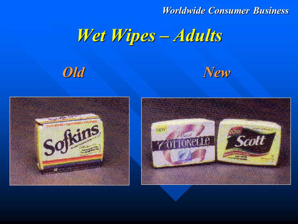 Worldwide Consumer Business All Products Old